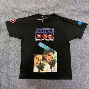 2019 Asap Rocky No Guns In The Wild Hidji Films Tee T Shirt Men Women High Quality Travis Scott Astroworld T-shirt