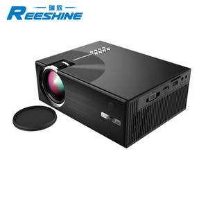 Economic commercial C7 cheapest mini portable led LCD projector home theater 1500 Lumens LCD LED C7 projector