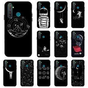 Aménagée Cas bricolage peint cas pour OPPO Realme XT Etui en silicone antidétonantes Phone Cover Pour OPPO Realme 5 Pro X2 C2 Q