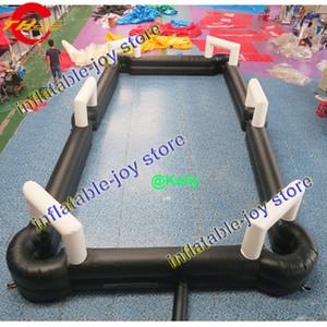 mesa de billar inflable gigante con ventilador y bolas gratis juegos de billar billar inflables piscinas de billar de fútbol inflable de carnaval barato