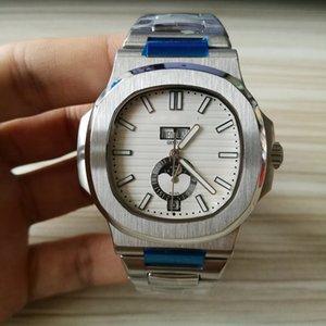 Uhr PP mechanische automatische Uhr für Männer Top-Qualität 5726 Sport Stahlarmbanduhr Mens Fashion Nautilus-Marken-Uhren 1941