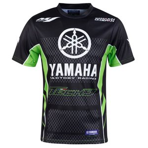 2019MEW سباق الدراجات النارية موتوكروس موتو gp ركوب ملابس الرجال ملابس قصيرة الأكمام الملابس القيادة ياماها m1 تي شيرت 002