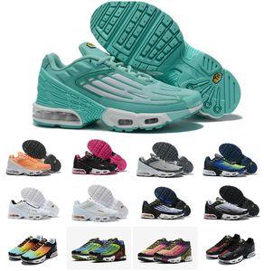 2020 Nova Original Além disso TN III 3 Homens Mulheres Running Shoes baratos Tuned Air Tn branco preto Triplo Sports design ultra Luxo correr OG Sneaker