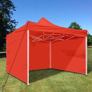 Oxford-Tuch-Partei-Zelt mit Sides Wasserdichtes Gartenterrasse im Freien Canopy 3x3m Sun Wandsonnenschutz Shelter Tarp Wand-Sonnenschutz