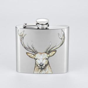 Hip 5OZ acero inoxidable frasco de metal de bolsillo portátil Flagon Botella de vino whisky Pot