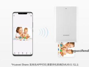 2019 الأصل الجديد HUAWEI الزنك CV80 الجيب المحمولة AR طابعة الصور Blutooth و300DPI 4.1 لاسلكية صغيرة الهاتف صور الطابعة