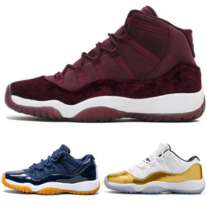 Designer Platinum Concord 11 Tint Pallacanestro Scarpe da uomo Sport Sport 11s Athletic Sneakers Retro Bred Bred Gym Red Chicago Midnight Navy Shoes ER 40-4