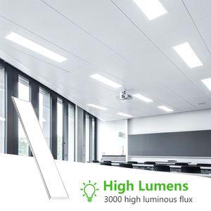 Light Panel 12W ad alta luminosità fredda Quadrato Bianco Supermercato aula Cucina moderna plafoniera led