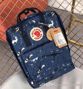 Classic 7L 16L 20L Camouflage Swedish Arctic Fox Bag New Fashion Luxury Design Shoulder Backpack Graduation Outdoor Travel Backpack Handbag