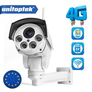 1080P PTZ كاميرا واي فاي 3G 4G SIM بطاقة كاميرا واي فاي كاميرا رصاصة في الهواء الطلق لاسلكية IR 50M 10X التكبير السيارات عدسة المجهر