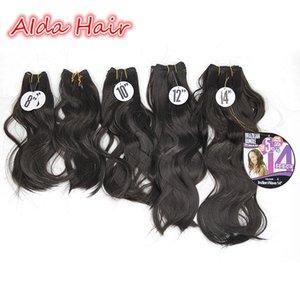 Trama do cabelo Sintético 5 PCS 100% Best Selling Super Onda Jerry Tecer Cabelo Encaracolado 8 8 10 12 14 Cabelo Molhado e Ondulado