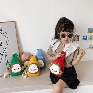 Children's waist bag foreign trade new boy monkey slung small fashion kid chest bag change baby bag