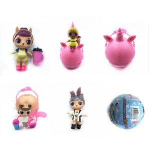 2020 NEW unicorn Bling GLAM glitter pet Confetti Pop Series 10cm doll Bffs Limited Edition doll Action figures Girls' Christmas gift ZX01