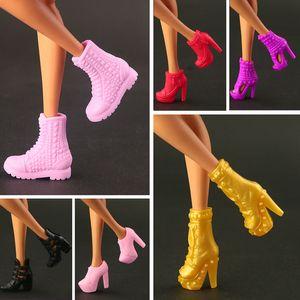 2020 новый оригинальный высокое качество туфли на высоком каблуке модные хрустальные туфли для куклы Барби 15 стиль обуви доступны