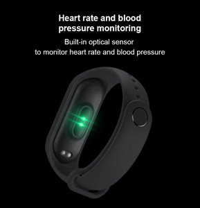 50pcs M5 Smart Bracelet Band Measuring Pressure wacth Fitness Bracelet Heart Rate Activity Tracker bracelet smart Wristband