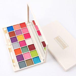 MISS ROSE 21 Цвет Красочный Eyeshadow Palette Shimmer или матовый Multicolor Макияж глаз тени палитр Профессиональные глаза