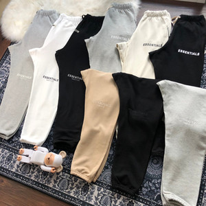 Mens Pants 19FW Essentialses High Street Pants for Men Reflective Sweatpants Mens Hip Hop Streetwear Pant Size:S-XL