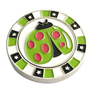 Magnetic Golf Ball Markers, presentes Golf Acessórios de golfe para mulheres dos homens Kids - Tamanho Padrão
