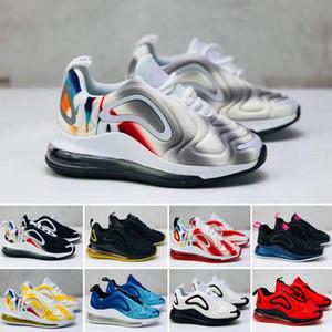 Nike Air Max 720 Grandes Miúdos Iluminados Tênis Para Kid Sneakers Meninos Sapatilha Menino Esportes Sapato Juventude Esporte Chaussures Crianças Ao Ar Livre Despeje Enfants