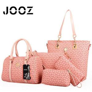 JOOZ Fishbone Weibliche Handtasche 5 PC-Composite-Frauen-Beutel-Schulter-Umhängetasche Messenger Bag Lady Beutel Griff