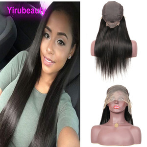 Indian Virgin Human Hair Straight 13X6 Lace Front Wigs Natural Color 13 By 6 Wigs Mink Lace Wig