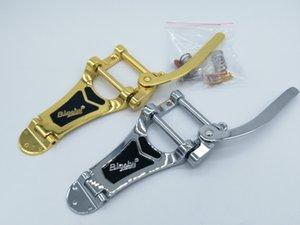 B700 вибрато Tailpiece Система гитары Электрический мост Silver / Gold Сделано в Корее