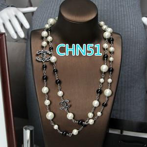 sevgilisi romantik hediye için CHN Resmi web sitesi Avrupa ve Amerika moda inci kolye üç Renkler serbest shippin seçmek zorunda