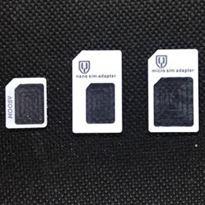 Freies dhl 3 in 1 neue marke nano micro standard sim karte konverter adapter nano sim karte micro sim karte für handy