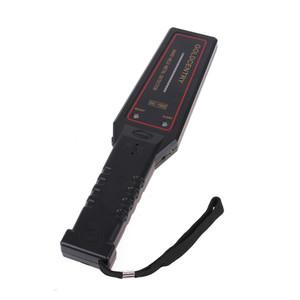 Detector de Metales de Seguridad de la venta caliente GC1002 alta sensibilidad Guardia pequeño de mano con LED de alarma de vibración audio