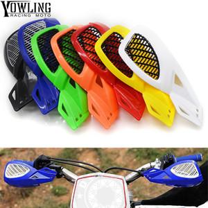 7 Cores 7/8 '' Motorcycle guardas de mão Protetores Motorbike Motocross Handguards ATV Dirt Bike Motos Mão Protege