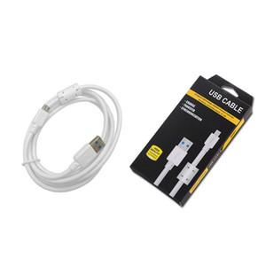 Câble de charge rapide 1.5m câble de synchronisation de données de câble USB pour Android Mirco V8 chargeur de téléphone portable pour le type C avec emballage de détail