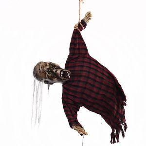 Halloween Party висячие украшения Электрический Призрачный Творческий Halloween Party Decoration Scary Horror Ghosts с датчиком света