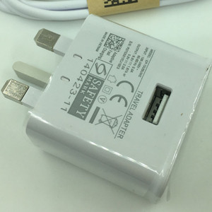 3 in 1 spina BRITANNICA 9V 1.67A 5V 2A Piedi Travel Adapter elettrica del bacino 3 perno di metallo di corsa della parete del caricatore per Samsung