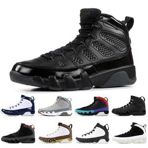 Nike Air Jordan Retro 9 9s Heißer Verkauf Herren Basketball Schuhe Jupman 9s Bred Traum es, Mopp es Melo Stadt des Fluges Space Jam UNC Mens Spots Sneakers