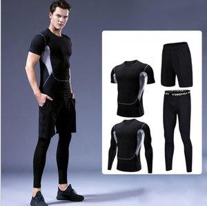 Мужская йога фитнес костюм гигроскопичный и потливость йога костюм для бега