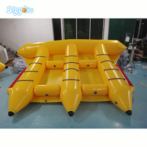 Günstige Water Park Spiele Pneumatische Schwimm Flyfish Boot Wasser Banana Boat Spielzeug Schlauch Towable für Surfen