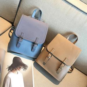 여자 블랙 스크럽 PU 가죽 여성 가방 패션 어깨 가방 디자이너 - 술 여성 작은 가방 귀여운 학교 가방