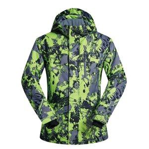 MUTUSNOW Men's Ski Jacket Waterproof Warm Snowboarding Jacket Windproof Snow Snowboard Coat for Outdoor Camping Hiking Skiing