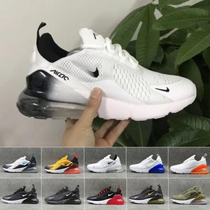 nike air max 270 270s 27c airmax OG Almofada e amortecimento de borracha Correndo Sneakers Originals OG malha respirável Damping Athletic Shoes 35-46 frete grátis RT-2C
