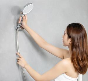 dabai Original Diiib 3 modos Handheld Shower Head Set 360 graus 120 milímetros 53 furo de água com PVC Matel Massagem poderoso chuveiro 3012591A5