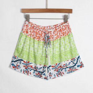 JAYCOSIN Shorts Pants Summer Elastic Drawstring Patchwork Soft Women Shorts for Girls Female Lady Casual Slim Hot Short Pants