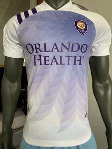 Jogador versão 2020 2021 Orlando City SC Soccer Jerseys DWYER MUELLER NANI MLS 20 21 jogador de futebol camisa