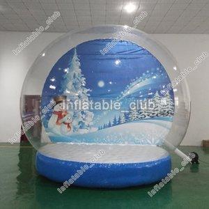 Fabrik Globus Dia Snow Globus Weihnachtsschnee 2m Schlauchboot Aufblasbar Für Großhandel Fotokabine Human Christmas Yard Günstige Uosxn