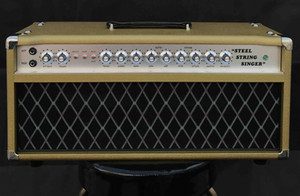 Grand Amplifier D-Style Pedals SSS100 Steel String Singer with FET GAIN, VOLUME, TREBLE, MIDDLE, BASS, HIGH, LOW, SEND, RETURN, MASTER, PRES