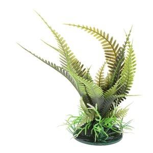 Plante de reptile artificielle - Terrarium Fake Plantes pour Habitat de réservoir Reptiles