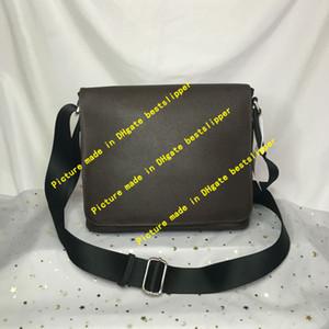 N41031 N41032 DISTRITO PM MM bolso de hombro de los hombres Maletines bolsa de viaje Moda Casual Satchels bolsas de mensajero Bandoleras 41031 41032