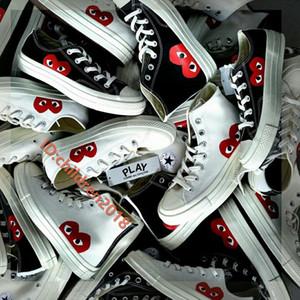 Klasik All-Star 1970 Hi C-D-G OYUN Casual Paten Ayakkabılar Moda Yüksek Düşük Tuval Ayakkabı Beyaz Siyah Chuck Taylor Büyük Çocuklar Sneakers Boyut 36-44