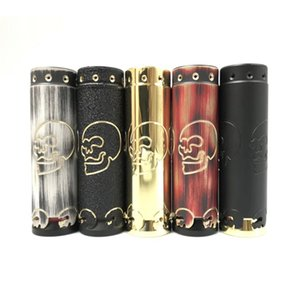Più nuovo Clone Skull HK Mod Ottone Materiale Meccanico Sigaretta Elettronica VAPE Magnete Interruttore Misura 18650 20700 21700 di Alta Qualità DHL