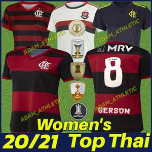 20/21 Flamengo Kadınlar Futbol Fersey De Arrascaeta Gabriel B. Kadın Futbol Gömlek B.Henrique Bayanlar Üniforma Camisa Flamengo Feminina 2020