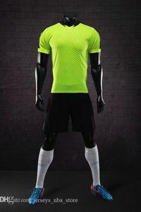 Mens Football Jerseys Design Os homens s personalizado on-line malha Desempenho Personalidade Loja Fardas vestuário futebol costume popular B22-03